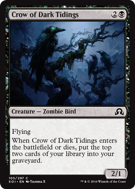 Crow of Dark Tidings - Foil