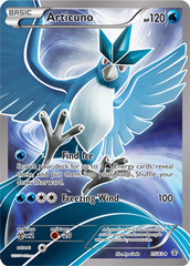 Articuno - 25/83 - Full Art Ultra Rare on Channel Fireball