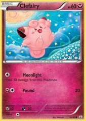 Clefairy - 50/83 - Common on Channel Fireball