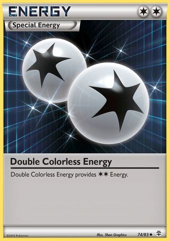 Double Colorless Energy - 74/83 - Uncommon