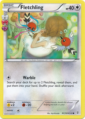 Fletchling - RC25/32 - Common on Channel Fireball
