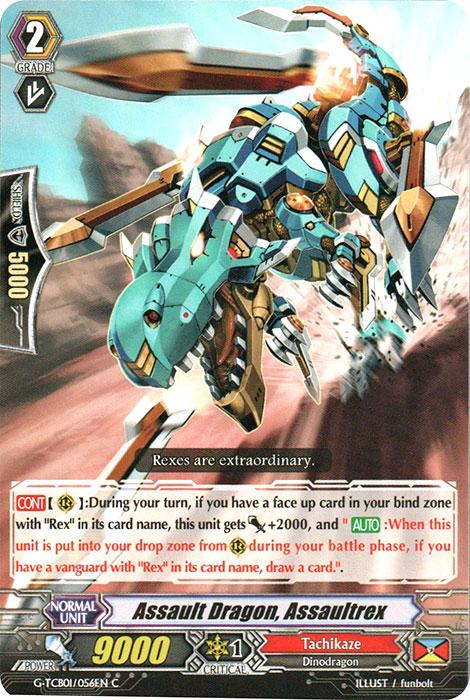 Assault Dragon, Assaultrex - G-TCB01/056EN - C