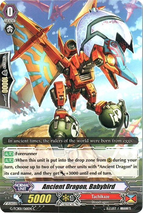 Ancient Dragon, Babybird - G-TCB01/061EN - C