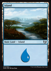 Island (073) on Channel Fireball