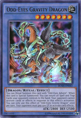 Gadarla the Mystery Dust Kaiju Unlimited Edition YuGiOh BOSH-EN087 Rare