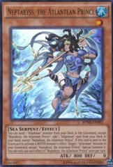 Neptabyss, the Atlantean Prince - BOSH-EN092 - Ultra Rare - Unlimited Edition