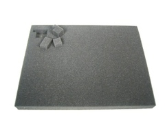 Battlefoam Pluck Foam Tray - Large - 3.5