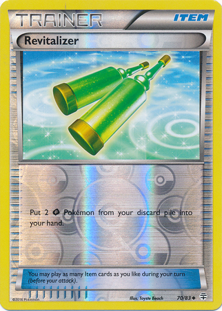 Revitalizer - 70/83 - Uncommon - Reverse Holo