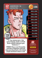 Android 16, Distracted - U070 - Foil