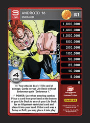 Android 16, Enraged - U071 - Foil