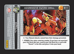 Aggressive Sword Drill - R111 - Foil
