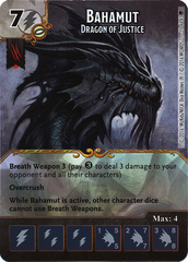 Bahamut - Dragon of Justice (Die & Card Combo)