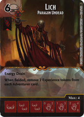 Lich - Paragon Undead (Die & Card Combo)