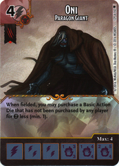 Oni - Paragon Giant (Card Only)