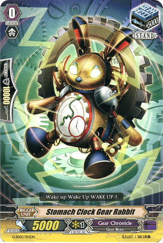 Stomach Clock Gear Rabbit - G-SD01/014