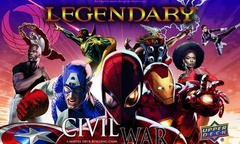 Legendary Marvel Civil War Expansion
