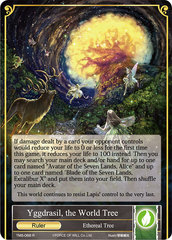 Yggdrasil, the World Tree - TMS-068 - R- Foil