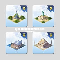 Quadropolis: Promo Tiles