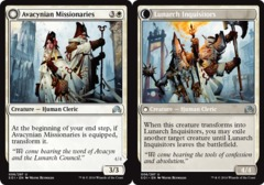 Avacynian Missionaries // Lunarch Inquisitors - Foil