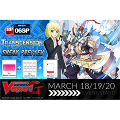G Booster Pack Vol. 6: Transcension of Blade & Blossom Sneak Preview Kit