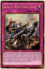 King's Consonance - PGL3-EN019 - Gold Secret Rare - 1st Edition