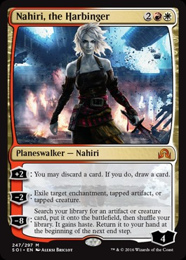 Nahiri, the Harbinger - Foil