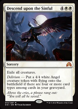 Descend Upon the Sinful - Foil