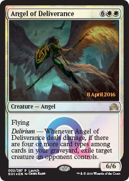Angel of Deliverance - Foil - Launch Promo