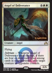 Angel of Deliverance - Foil - Launch Promo on Channel Fireball