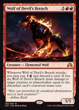 Wolf of Devils Breach - Foil