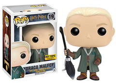 Harry Potter Series - #19 - Draco Malfoy w/ Broom [Hot Topic]