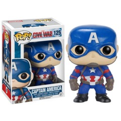 Funko Pop - Captain America: Civil War - #125 - Captain America