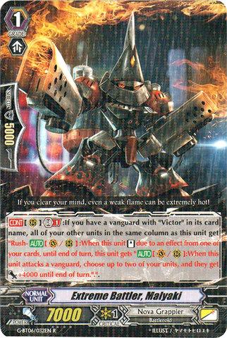 Extreme Battler, Malyaki - G-BT06/032EN - R