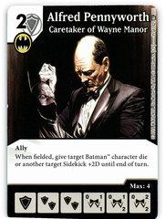 Alfred Pennyworth - Caretaker of Wayne Manor (Die & Card Combo)