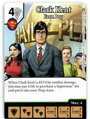 Clark Kent - Farm Boy (Die & Card Combo)