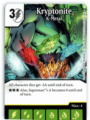 Kyroptonite - K-Metal (Die & Card Combo)