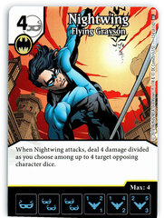 Nightwing - Flying Grayson (Die & Card Combo)