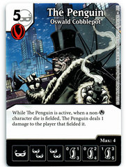 The Penguin - Oswald Cobblepot (Die & Card Combo)