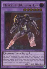 Masked HERO Dark Law - OP01-EN003 - Ultimate Rare - Unlimited Edition