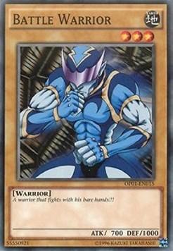 Battle Warrior - OP01-EN015 - Common - Unlimited Edition