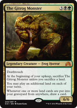 The Gitrog Monster - Foil
