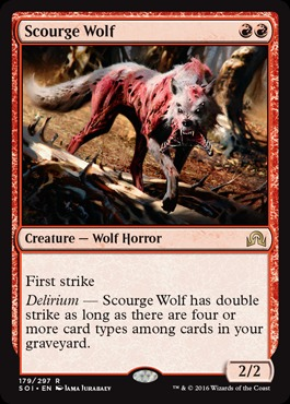 Scourge Wolf - Foil