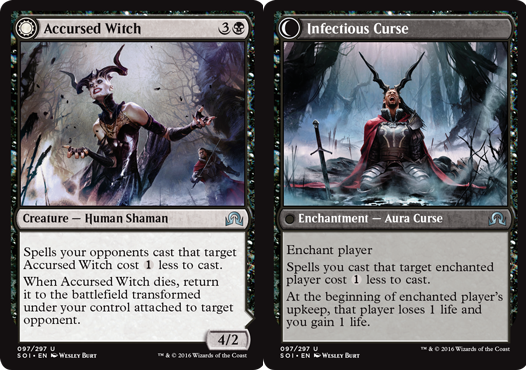 Accursed Witch // Infectious Curse - Foil