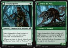 Solitary Hunter // One of the Pack - Foil