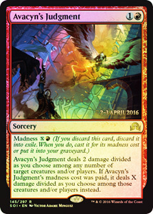 Avacyns Judgment - Foil - Prerelease Promo