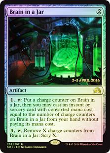 Brain in a Jar - Foil - Prerelease Promo