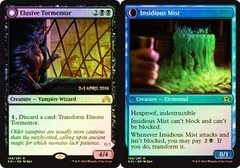 Elusive Tormentor // Insidious Mist (Shadows over Innistrad Prerelease 2-3 April 2016)