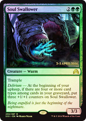 Soul Swallower (Shadows over Innistrad Prerelease 2-3 April 2016)