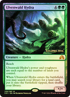 Ulvenwald Hydra - Foil - Prerelease Promo