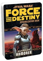 Star Wars:  Force and Destiny - Guardian Armorer Specialization Deck